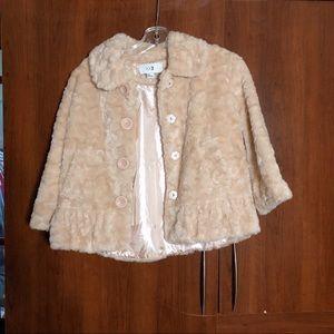 Teddy Bear Coat Forever 21 Little Girl Size M